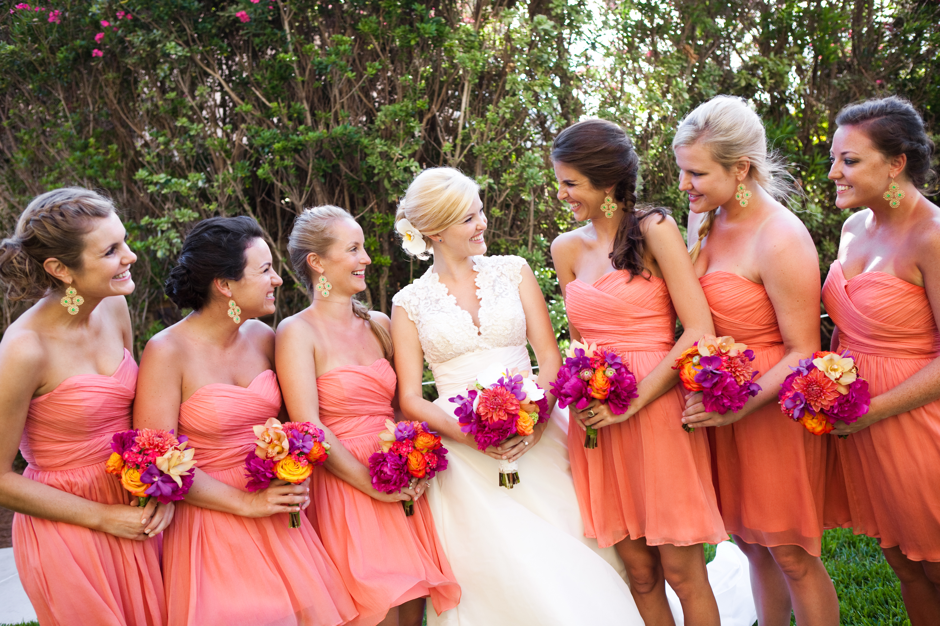 Laura's Bridal Party